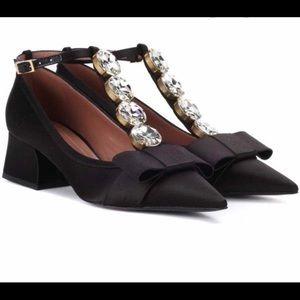Beautiful Marni satin T-bar Mary Jane heels